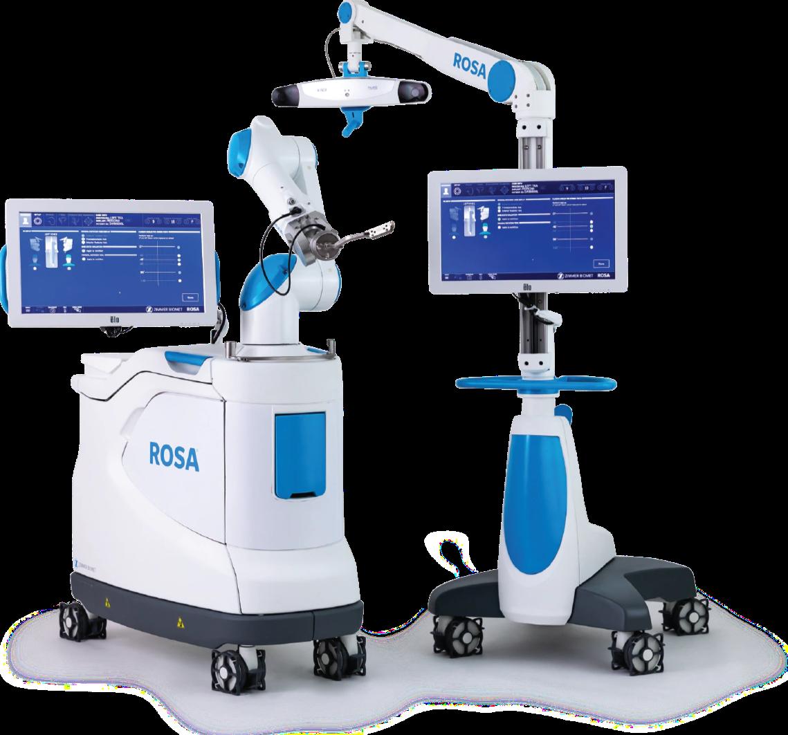 Роботизированная хирургия на установке Rosa в ортопедии Гелиос Берлин-Бух